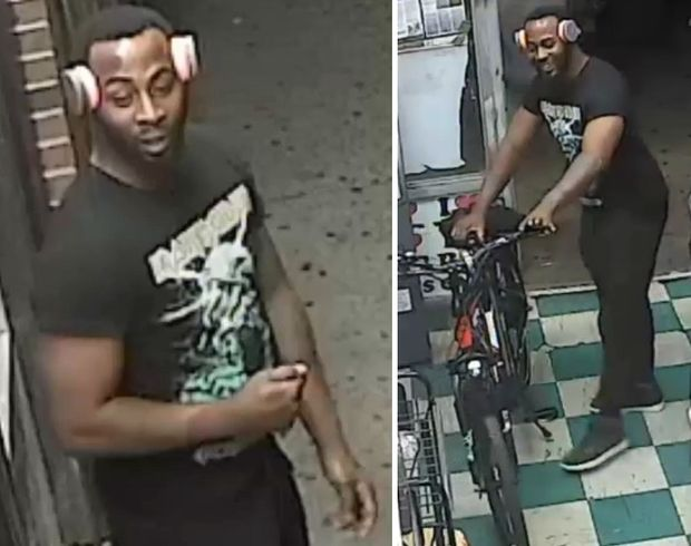 Police are looking for suspect who stole an electric bike from a bodega.