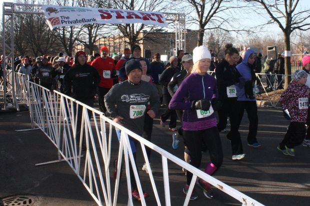 Proceeds from the Beverly Hills Turkey Trot are split between the John McNicholas Pediatric Brain Tumor Foundation and the 19th Ward Youth Foundation. The race will return to North Beverly this year at 9 a.m. Nov. 25.