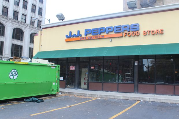 J.J. Peppers Food Store, 4800 N. Sheridan Road, has now closed.