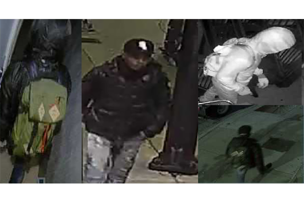 Police are looking for a man who has broken into three Lincoln Park and Lakeview homes while its residents are asleep.
