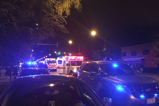 A shooting in the 2600 block of West Peterson Avenue injured a 30-year-old man Saturday.