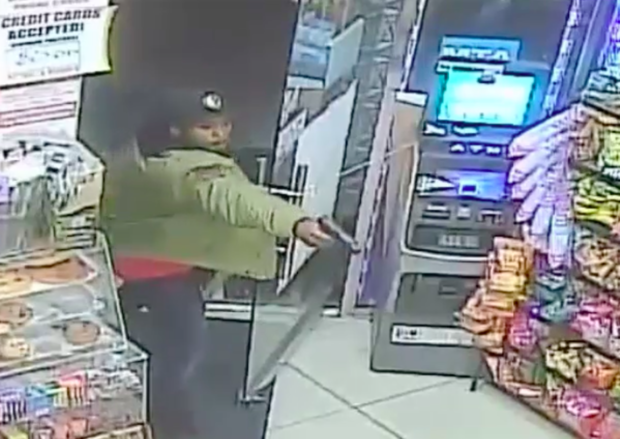 Police need help finding a man they say opened fire inside a Brooklyn bodega, police said.