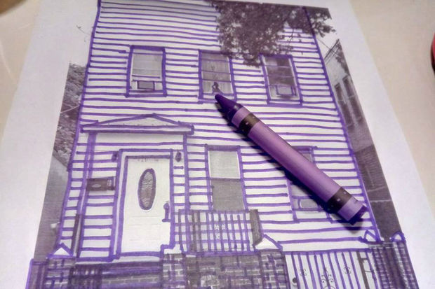 The preservation society in Corona and East Elmhurst launched aletter-writingcampaign in crayon.