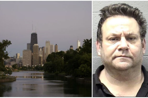 A dismembered body found Saturday in the Lincoln Park lagoon has led to murder charges against 55-year-old Brian Peck of Elgin.