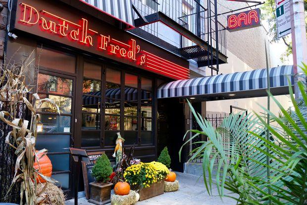 Dutch Fred's, at 307 W. 47th St., near Eighth Avenue.