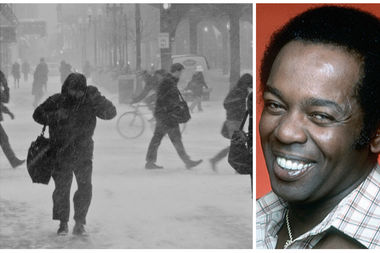 Lou Rawls gave wide fame to the Hawk, Chicago's winter wind, in his song