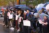 Charles Murray Appearance At DePaul Brings Out Students To Protest In Rain