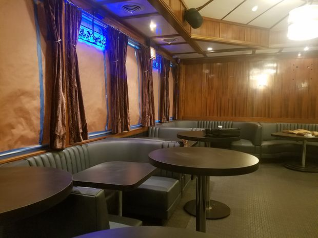 Blue Line Lounge & Grill at 1548 N. Damen Ave.