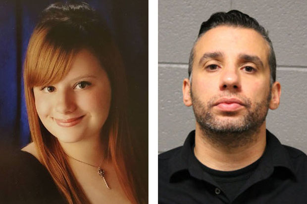 Courtney Cusentino (left) was critically injured in 2015. Chicago Police Officer Erin Mowry (right) is charged with aggravated DUI.