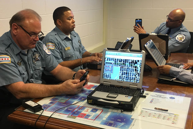 ShotSpotter is a new system CPD is using to help officers pinpoint where shots were fired.