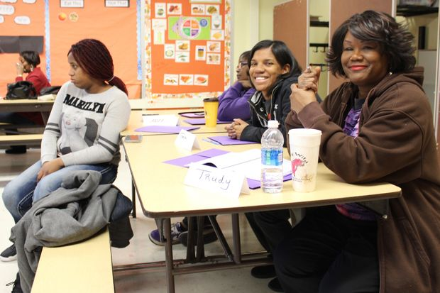 A group of seven mentors began their training Wednesday morning at Esmond Elementary School in Morgan Park. The volunteers are learning to work with the children at 1865 W. Montvale Ave.
