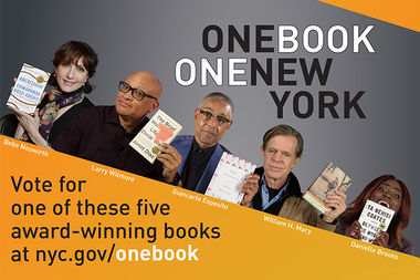 The city is letting New Yorkers pick which novel will be the first in its