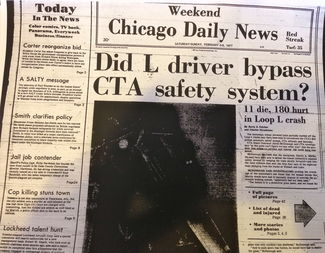 The Daily News reports the events of the CTA