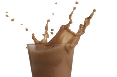 The victim found two containers of chocolate milk on the floor of her apartment, police said.