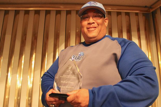 Kenny Fullman has been the head baseball coach at Harlan High School for 17 years. The Morgan Park resident was inducted last month into the Illinois High School Baseball Coaches Association's Hall of Fame.