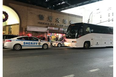 The sheriff seized three buses operated by YEP Tour Inc. on Thursday.