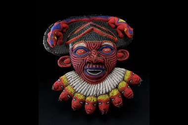 "African art pieces, such as this early 20th century Tikar mask from Cameroon, will be on display at the Skylight Gallery as part ofa new exhibit, ""Brooklyn is Africa: A Borough of Inclusion; A Continent of Invention."