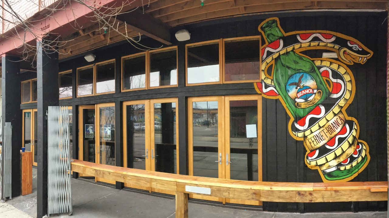 surf bar's replacement, branca bar, opens wednesday in logan