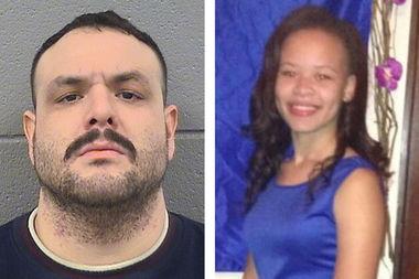 Antonio Rosales, 32, (left) is accused of murdering 16-year-old Desiree Robinson.