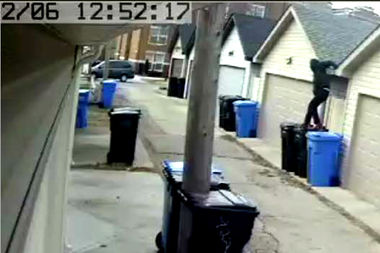 On. Feb. 6, a man broke into two homes in the 900 block of West 37th Street.