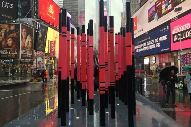 The Times Square Alliance has unveiled the winner of its ninth annual Times Square Valentine Heart competition.