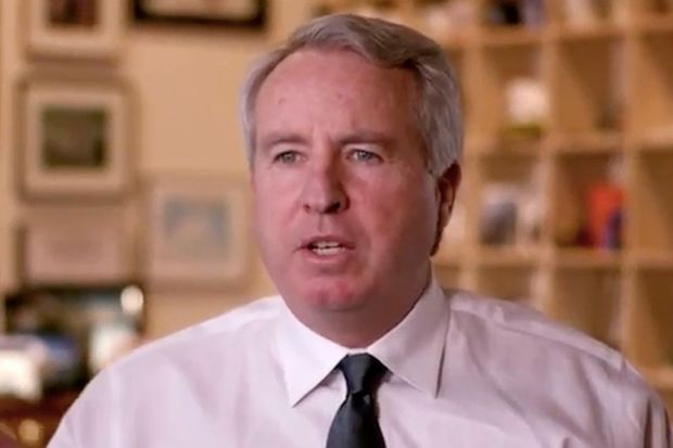 Chris Kennedy says he's running for Illinois governor to restore the state's economy.