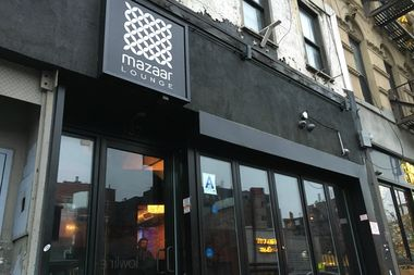 Mazaar Lounge is located at 137 Essex St.