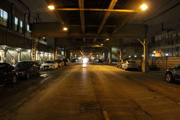 Leaders are brainstorming ways to light up the dark — and dangerous — stretch of West Lake Street in the West Loop.