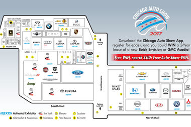 Free Parking Chicago Map.Chicago Auto Show Final Day Today Cost Parking Hours Cta Metra