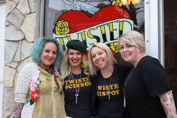 After 10 years in business, Twisted Scissors opened a second location, Little Sister, in Avondale.