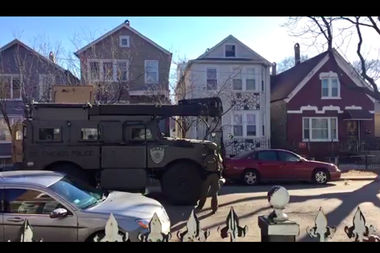 A Chicago Police SWAT team was called to the 2600 block of W. 23rd St. in Little Village Thursday afternoon.