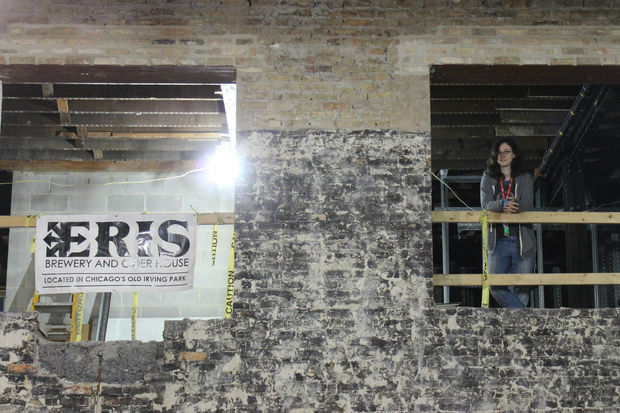 Michelle Foik and Katy Pizza are building a brewery and cider house for the future.
