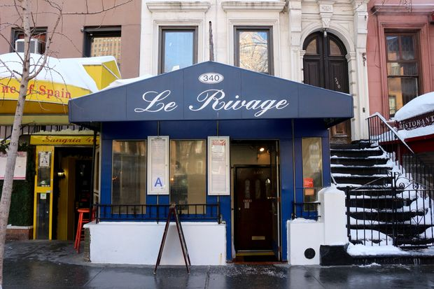 Le Rivage at 340 W. 46th St., between Eighth and Ninth avenues.