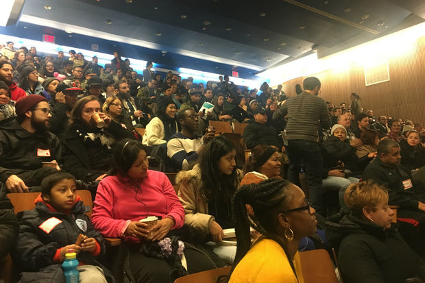 More than two hundred residents turned out on Saturday to voice their opinions about Bushwick's future.
