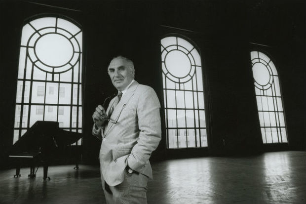 Harvey Lichtenstein in 1987. The former Brooklyn Academy of Music president, who is credited with reviving the performing-arts venue in the '60s, died at 87.