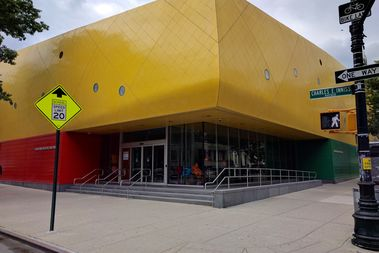 The Brower Park Library will relocated to the Brooklyn Children's Museum, pictured here, the library has said.