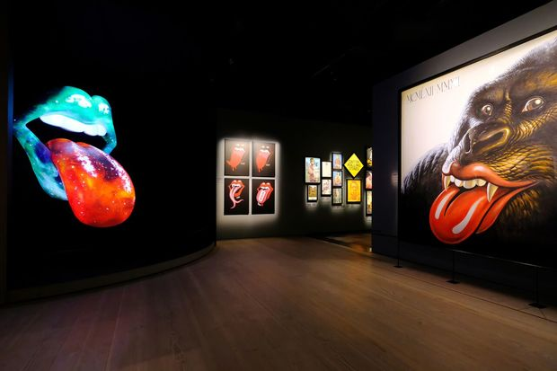 Photos of a new Rolling Stones exhibit coming to Navy Pier.