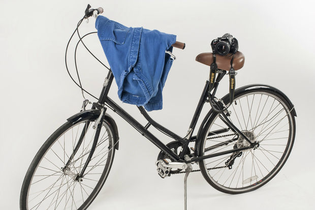 Bill Cunningham's bicycle.