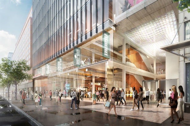 The mayor's office released renderings of the new tech hub slated to replace the massive P.C. Richard & Son electronics store near Union Square.