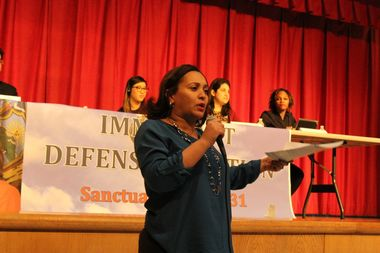State Sen. Marisol Alcantara said her