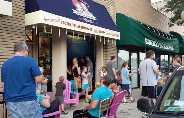 Tony & Millie's Italian Ice Bar will open permanently next month after two separate stints as a summertime pop-up shop.