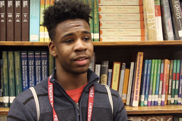 Fenger High School students a part of the Mikva Challenge Peace and Leadership Council made a short video discussing changes they would like to see in Chicago.
