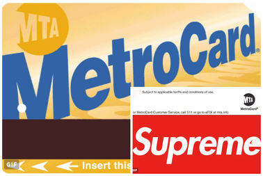 people are asking 1k on ebay for 5 50 supreme branded metrocards