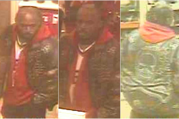 The man is accused of forcibly touching the woman while she shopped in the FiDi store.
