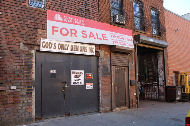Police have been trying for more than two years to shut down God's Only Demons. The neighborhood's hot real estate market could be an even greater threat to its existence.