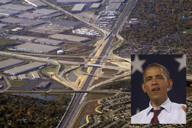 State Rep. LaShawn Ford wants to rename 270 miles of Interstate 55 for former President Barack Obama.