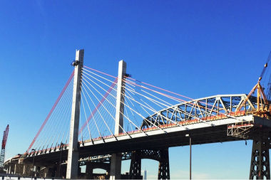 Workers will demolish the old bridge this summer, according to the state.