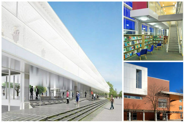 Three finalists are vying to design the new Independence Branch library.