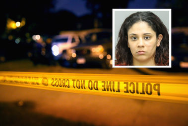 Layla Enriquez, 27, is charged with first-degree murder.