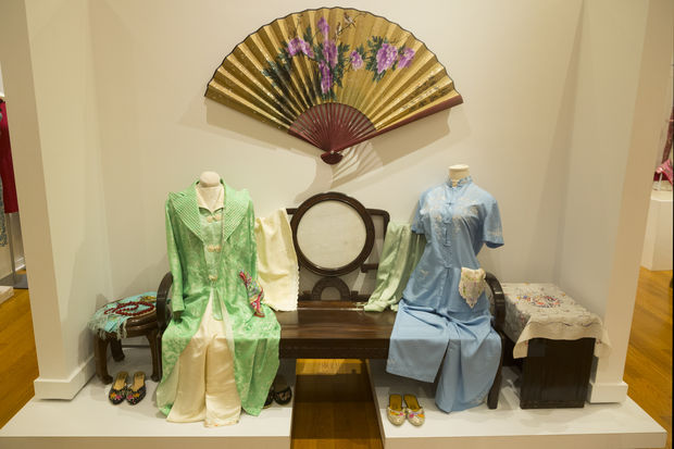 """The Way We Wore: Celebrating Chinese Fashion Heritage"" exhibit features Chinese clothing, jewelry and accessories from the late Qing Dynasty to the late 20th century."